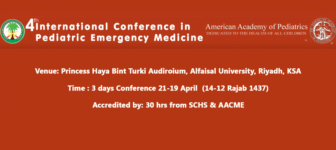 4th International Conference in Pediatric Emergency Medicine